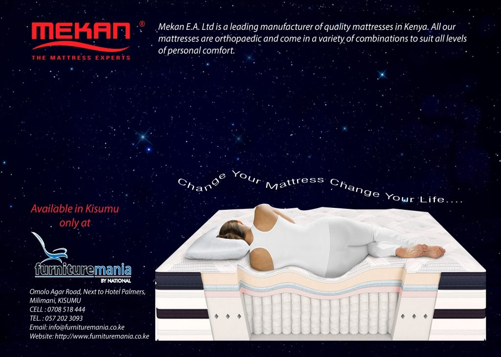 FURNITURE MANIA ARE AUTHORIZED DISTRIBUTORS OF MEKAN MATTRESSES